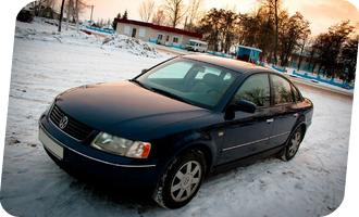 Уроки вождения на Volkswagen Passat мкпп