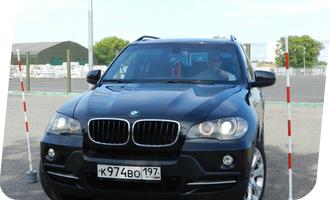 Уроки вождения на BMW X5 акпп