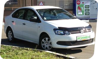 Уроки вождения на Volkswagen Polo мкпп
