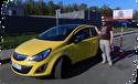 Обучение вождению на Opel Corsa акпп