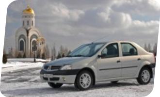 Уроки вождения на Renault Logan мкпп