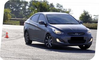 Уроки вождения на Hyundai Solaris акпп