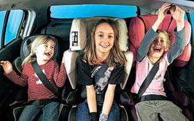 Ребенок в машине: вопросы безопасности