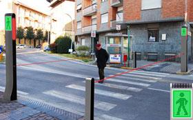 Пешеходов будут защищать «лазерные» светофоры