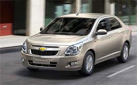 Chevrolet объявил российские цены на Cobalt
