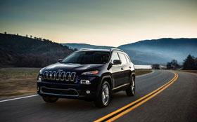 В сети засветился Jeep Cherokee нового поколения