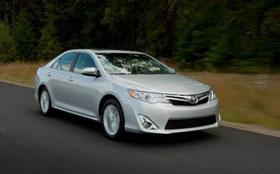 Toyota модернизировала Camry