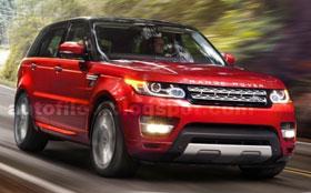 Появились фото нового Range Rover Sport