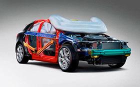 Компания Volvo изобрела подушки безопасности для пешеходов