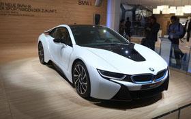 Состоялся официальный дебют BMW i8