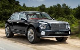 Внедорожник Bentley будет самым роскошным
