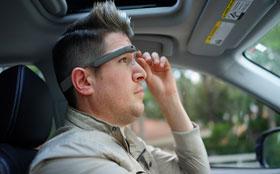 Mercedes интегрирует в навигационную систему Google Glass