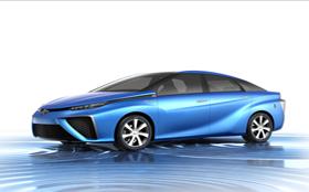 Toyota начинает выпуск серийных авто, работающих на водороде